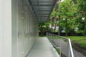Монтажный объект - отдел инжиниринга больницы St. Gallen - EUROmodul
