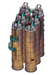 Проектирование установок, резервуаров и баков
